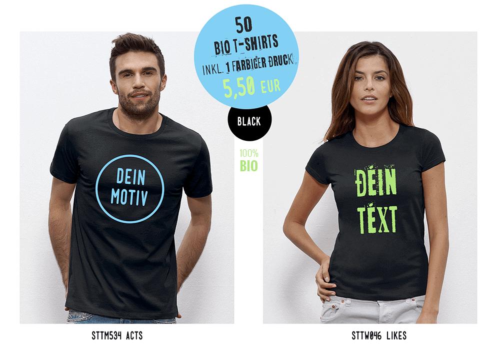 Günstige Preise für T-Shirt Druck bei Cantana