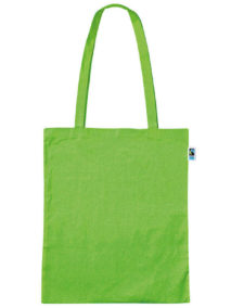 CA02 Fairtrade Tasche in hellgruen