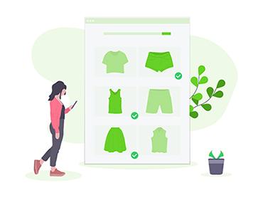 Bio T-Shirts zum bedrucken auswählen