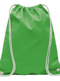 Fairtrade Turnbeutel in mais grün