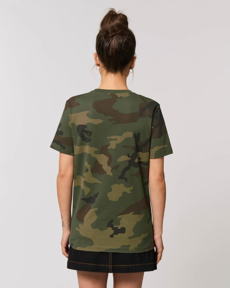 STTU828 Creator AOP Camouflage Damen hinten