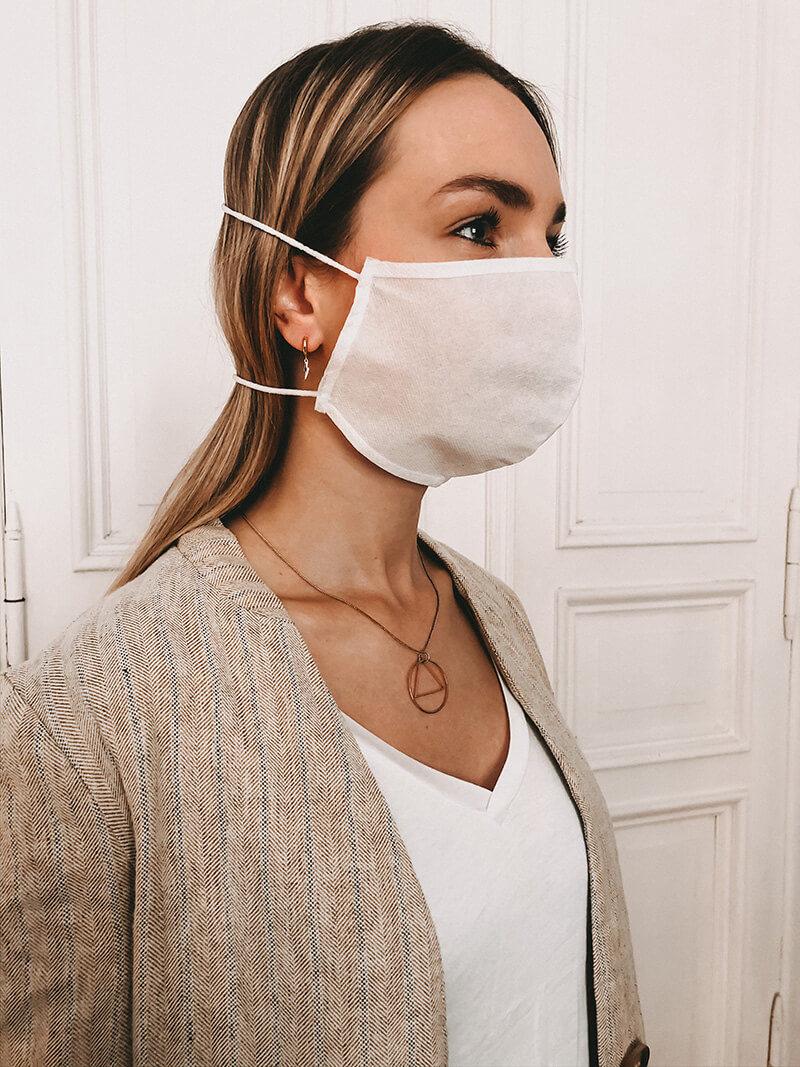 Gesichtsmaske aus Polypropylen bedrucken lassen