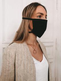 Gesichtsmaske aus Baumwolle zum Binden bedrucken lassen