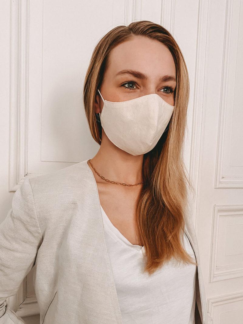 Maske aus Bio-Baumwolle bedrucken lassen