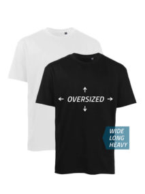 SC6151 Oversize T-Shirt aus Bio-Baumwolle