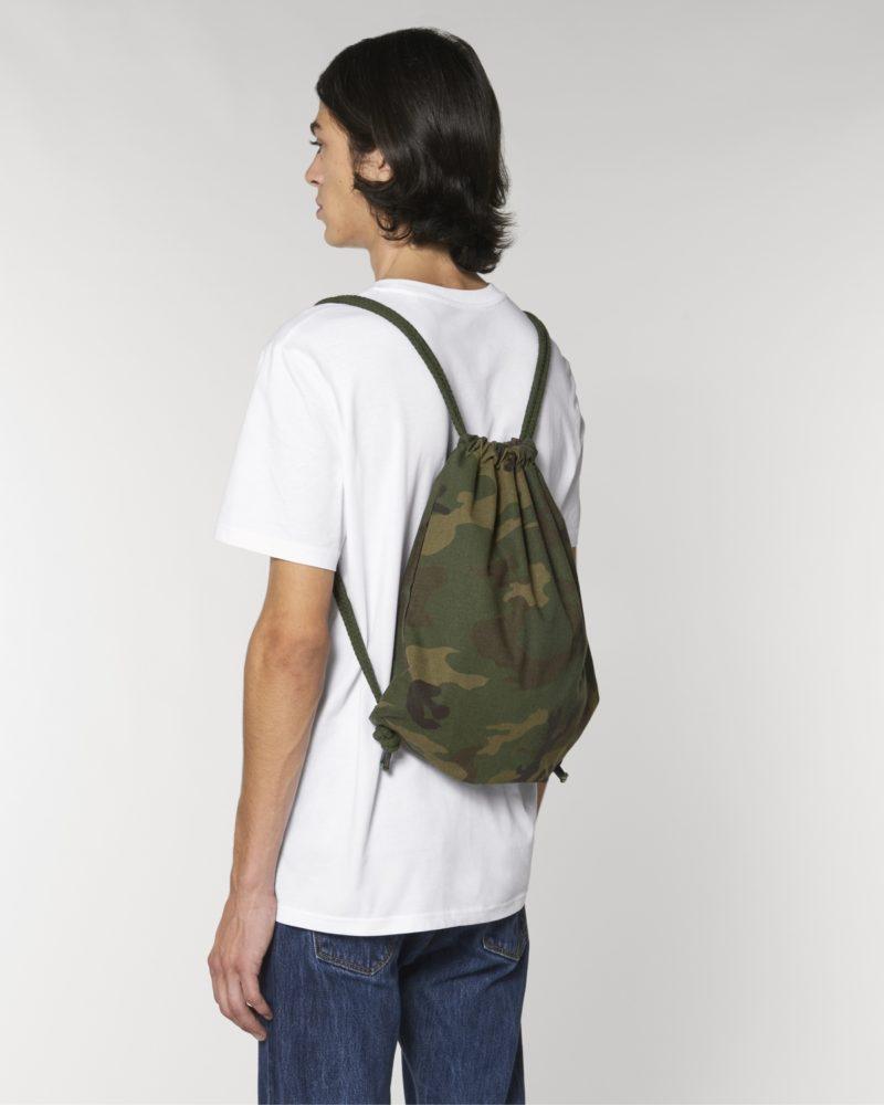 Gym Bag AOP STAU769 Camouflage Herren vorne