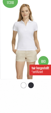 Bio Polo-Shirt 11318 bedrucken
