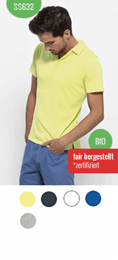 Bio Polo-Shirt 632 bedrucken