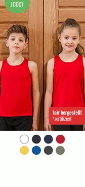 Kinder Bio Shirt bedrucken