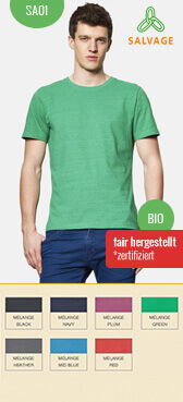 Recycling T-Shirt SA01 bedrucken
