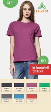 Recycling T-Shirt SA01/u bedrucken