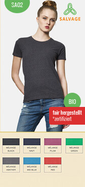 Recycling T-Shirt SA02 bedrucken