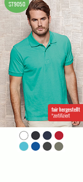 Bio Polo-Shirt st9050 bedrucken