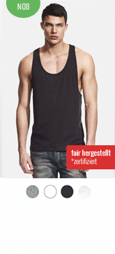 Bio Tank Top N08 bedrucken