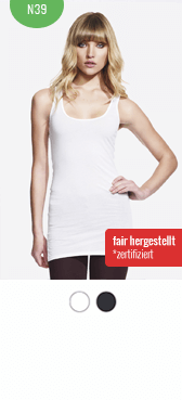 Bio Tank Top N39 bedrucken