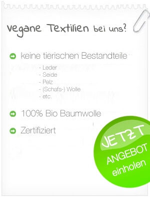 vegane Textilien